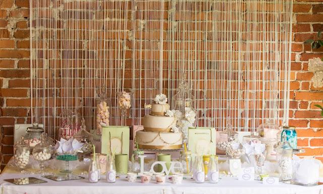 Sweet table matrimonio tema dolciumi