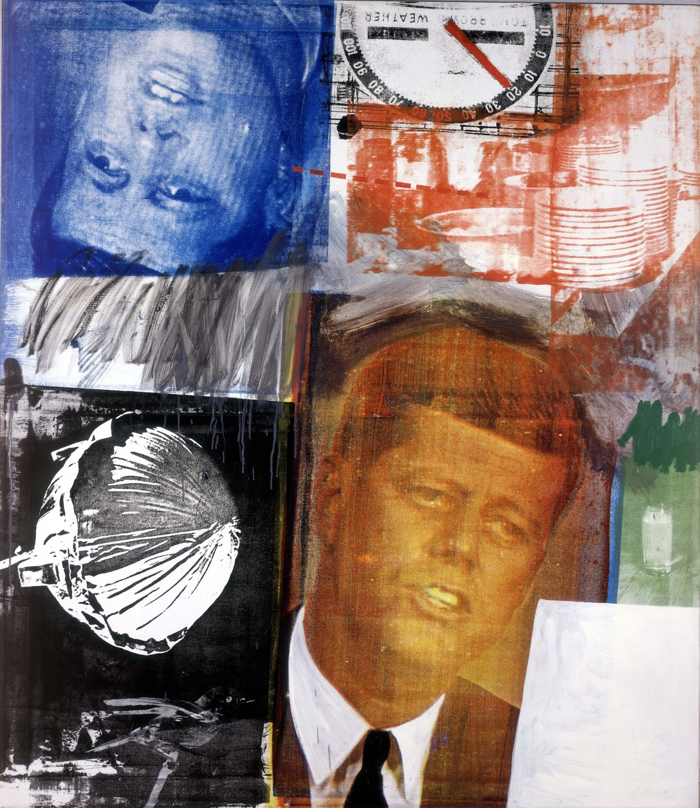 Robert Rauschenberg, combine-painting, pop-art