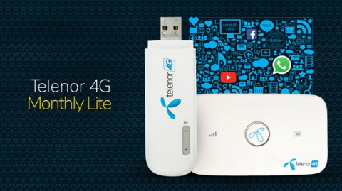Telenor 4G Monthly Lite Packages