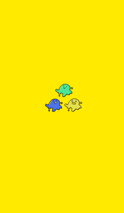 Cute Tribimy Slime Yellow