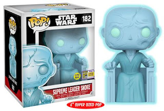 "Pop! Star Wars: 6"" Supreme Leader Snoke (Glow-in-the-Dark)."