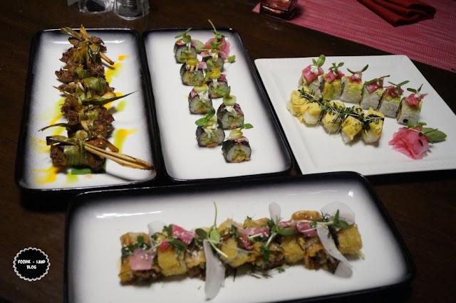 Sushi assortment @ The Pan Asian Food Festival @ Nook   The Aloft   Bangalore