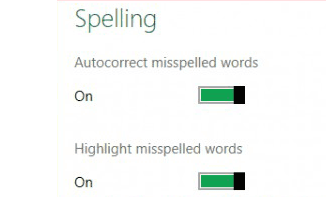 Windows 8 Spell Check