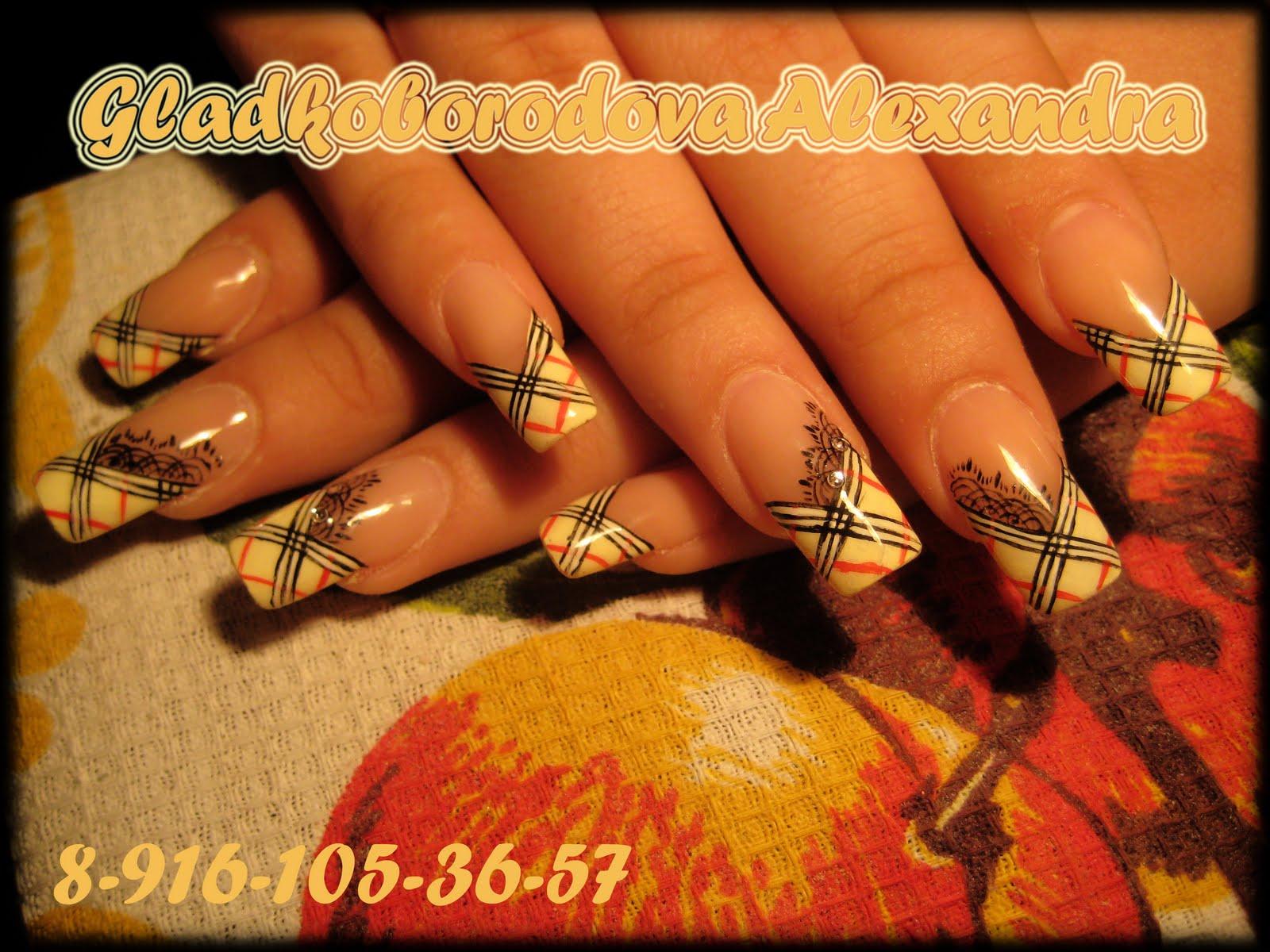 Наращивание ногтей ГЕЛЕМ/БИОГЕЛЕМ,маникюр,дизайн.: Дизайн в ...