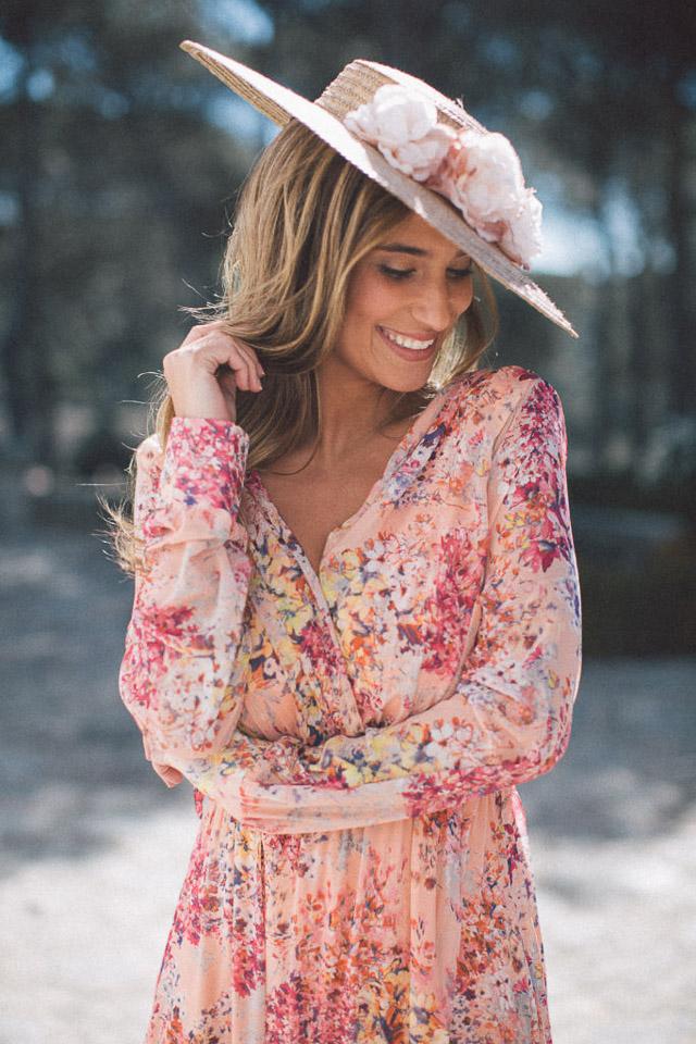 vestido invitada perfecta boda look alquiler la mas mona blog a todo confetti