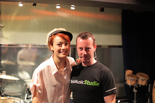 Joey Yung 容祖兒 at This Music Studio with Spencer Douglass
