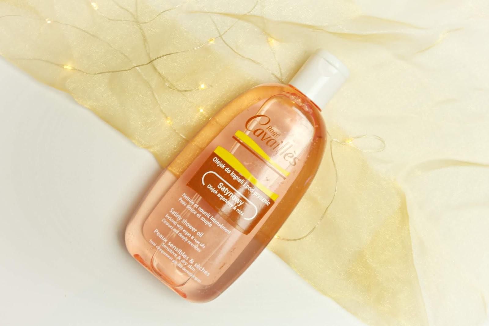 satynowy olejek do kąpieli i pod prysznic roge cavailles