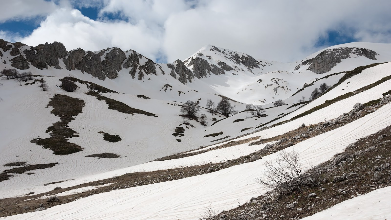 Valle Cerchiata, Colle delle Trincere, Punta Trento