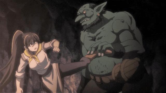 goblin slayer membuat kecewa banyak penontonnya ketika rilis episode perdana