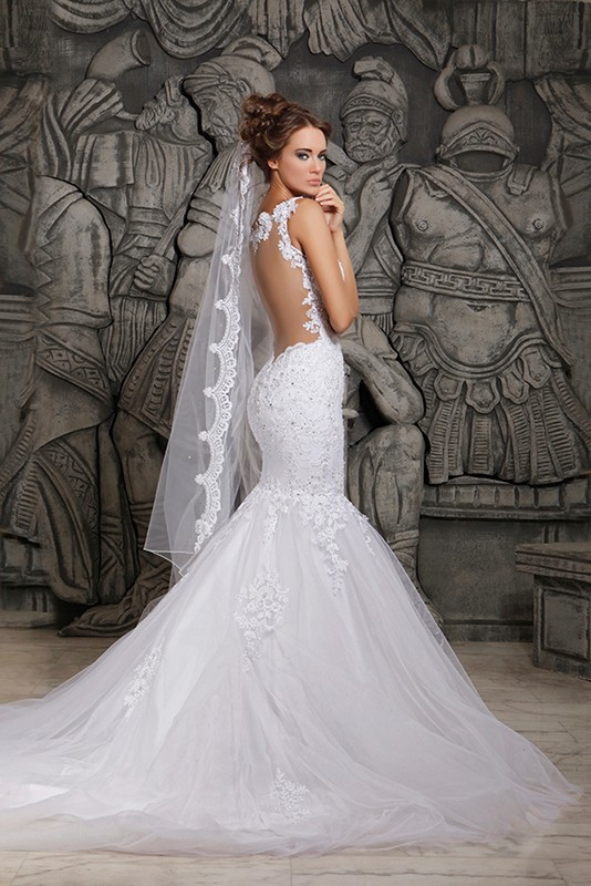 All White Wedding Dresses