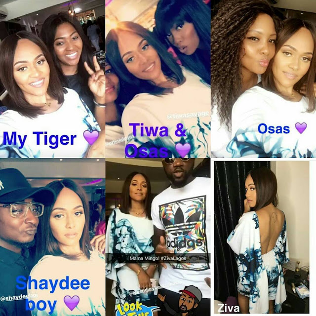 Celebrities Support Wizkid Ex, Tania Omotayo At Her Cocktail Party