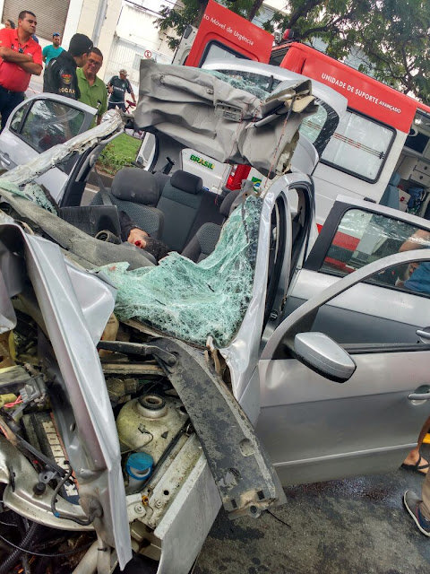 Resultado de imagem para Acidente na avenida agamenon em caruaru