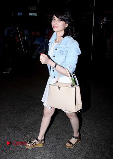 Actress Tamannaah Bhatia Pictures at Mumbai Airport 0006