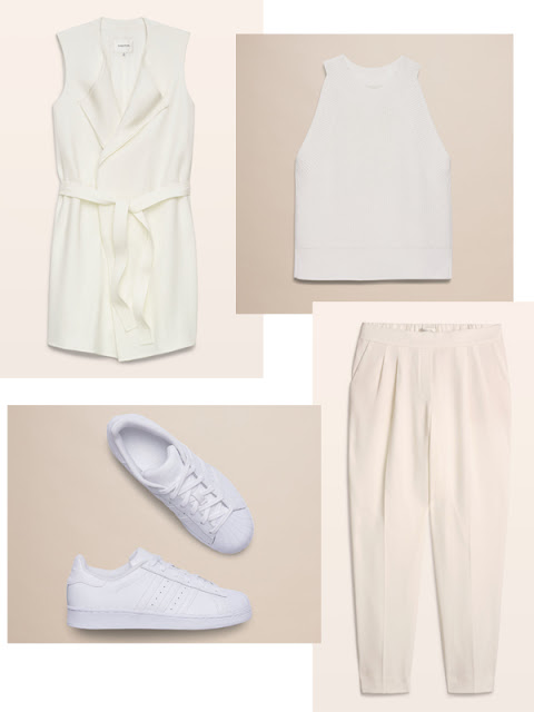 How to wear White after Labour Day Aritzia Fashion