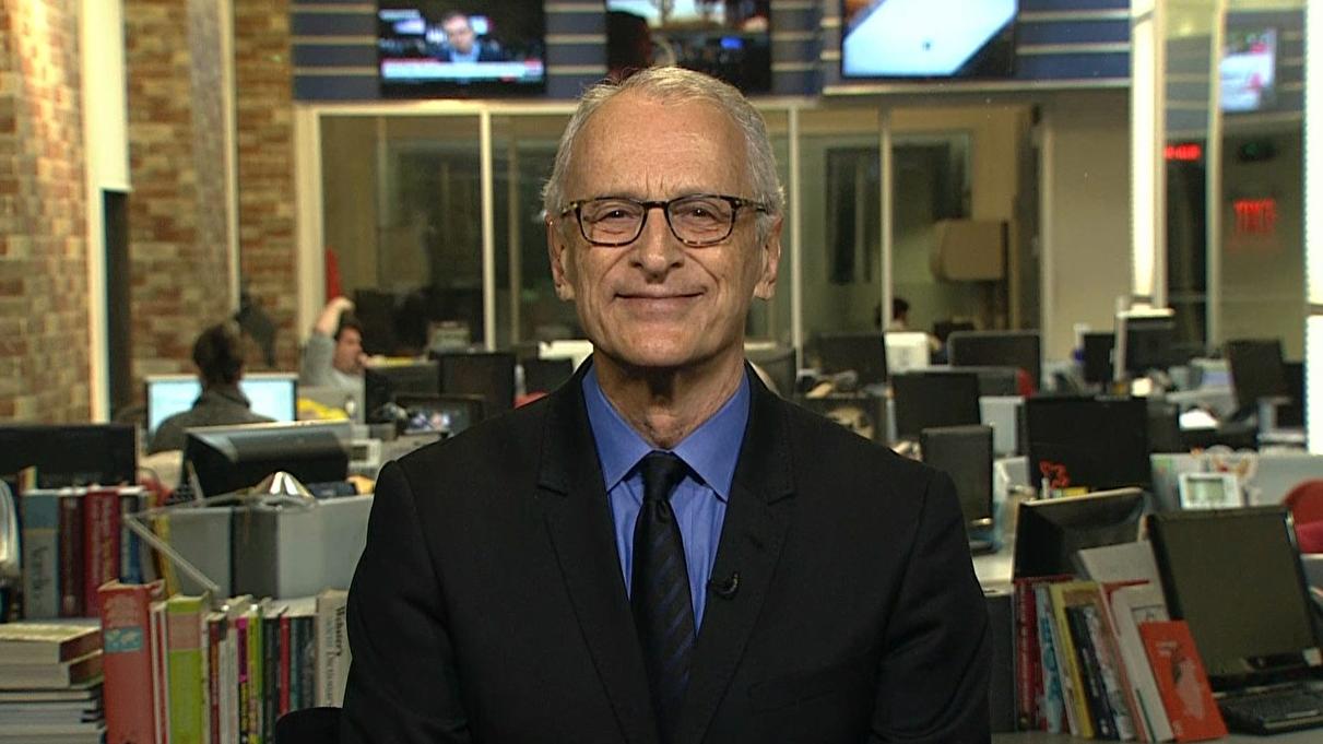 Jorge Pontual, durante uma transmissão ao vivo do Globo News, julgou ser um bom momento para brincadeiras.