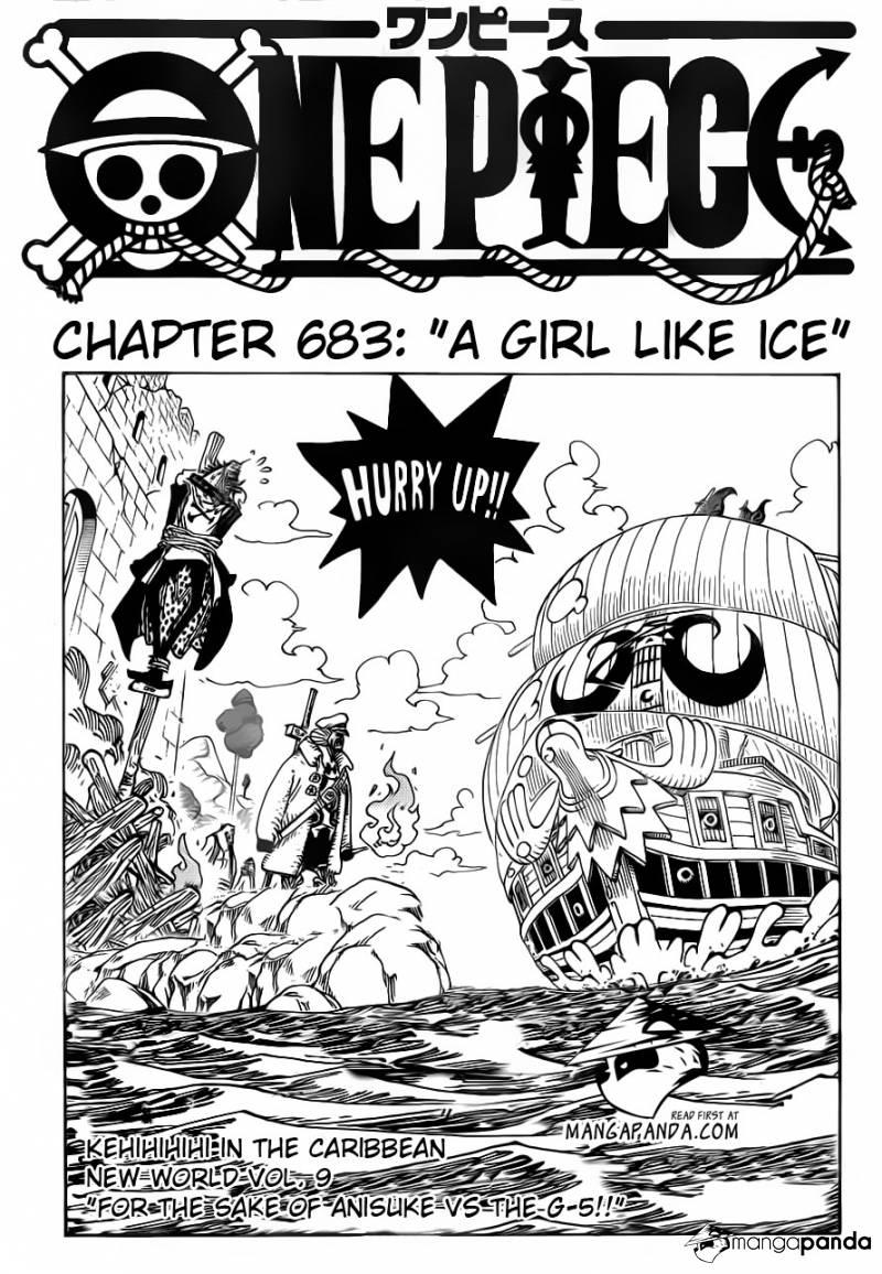 One Piece Chap 683