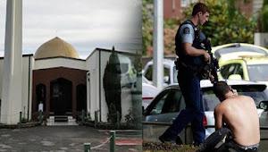 Detik-detik Penembakan Muslim di Masjid Selandia Baru