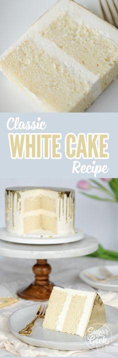 Whíte Cake Recípe