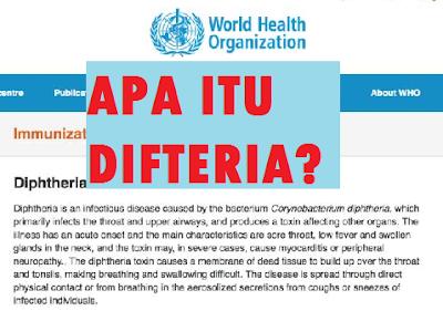Punca Dan Cara Rawatan difteria