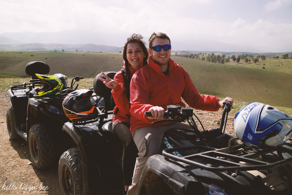 quad biking, tui excursion, marrakesh, marrakech