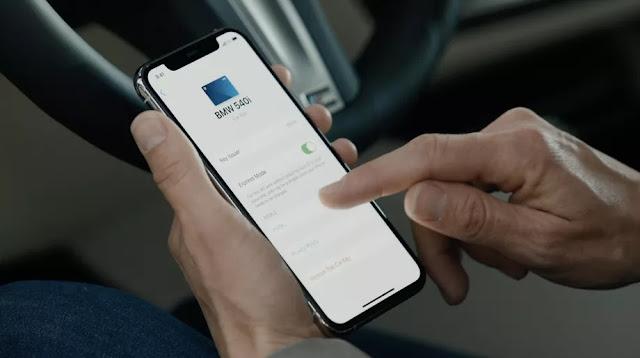 Автомобильный ключ NFC