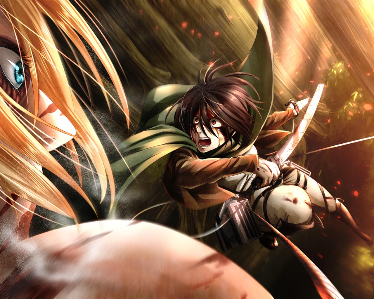 annie attack on titan wallpaper - photo #18