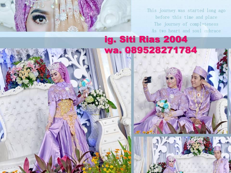 Jasa Rias Pengantin Muslim Syari Sunda Siger Hijab Modern