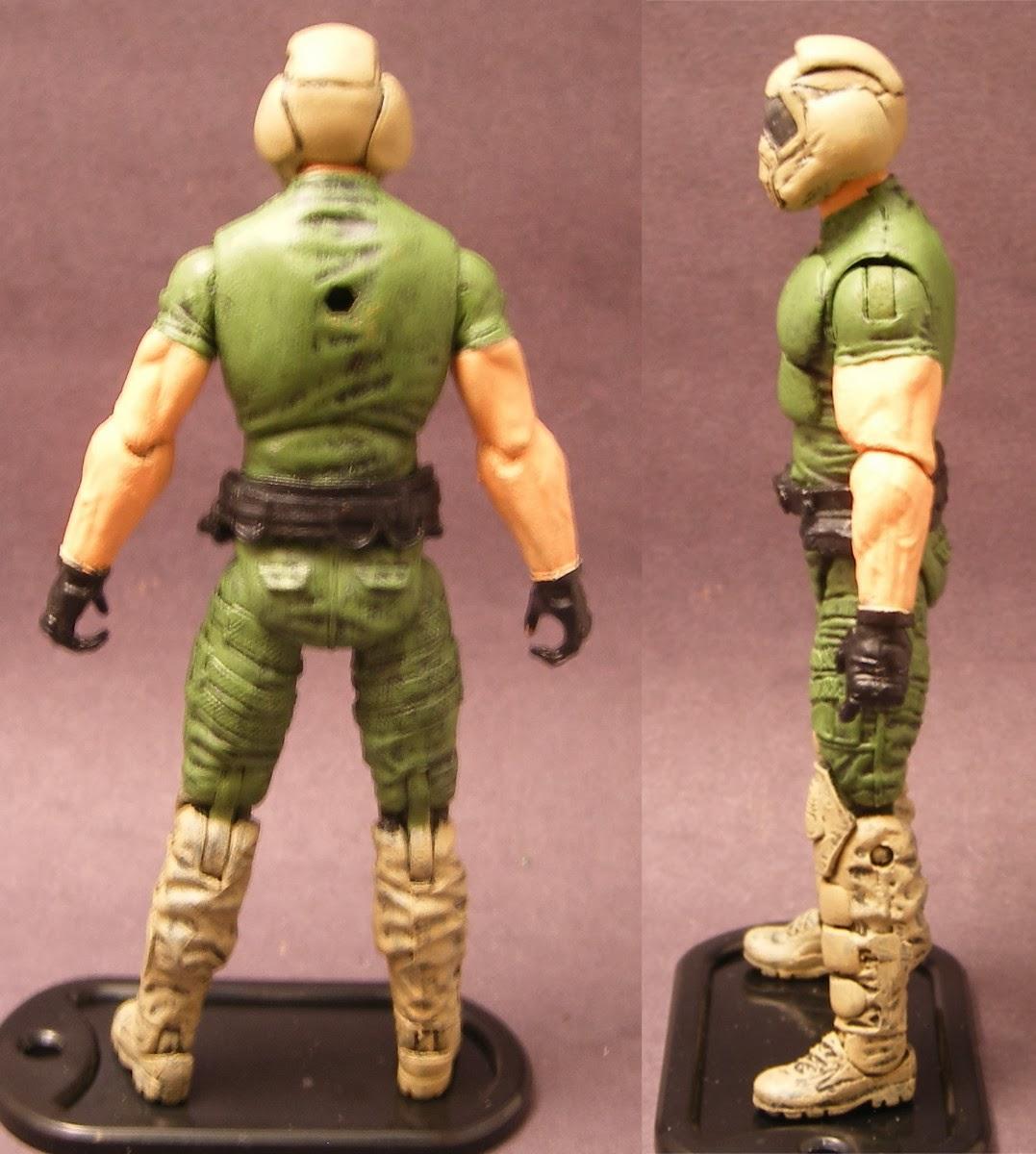 Comedian Viet's Custom Toys: Doom Marine Action Figure