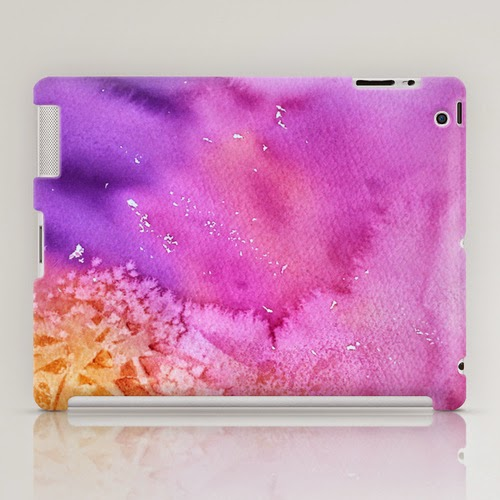 TABLET CASE/ IPAD (2ND, 3RD, 4TH GEN) based on Original abstract watercolor by Olga Peregood