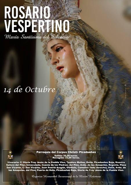 Resultado de imagen de titular Mariana de la Hermandad de la Misión en Jerez