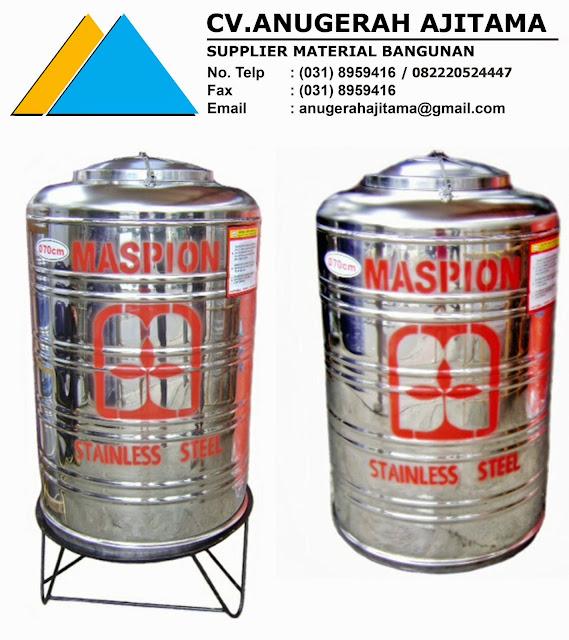Tangki Air Stainless Steel Maspion