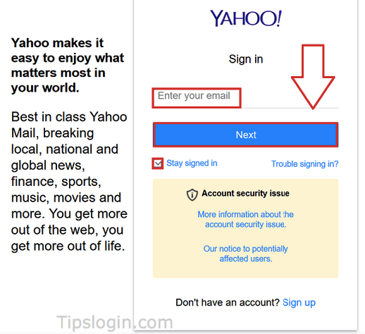 www.login.yahoo.com Url To Login Yahoo Mail - how to login tips