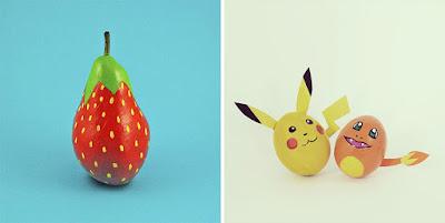 Buah-buahan Ini Jadi Lucu dan Keren