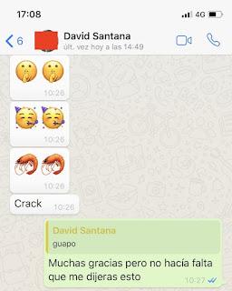 conversación WhatsApp con emoticonos imagen
