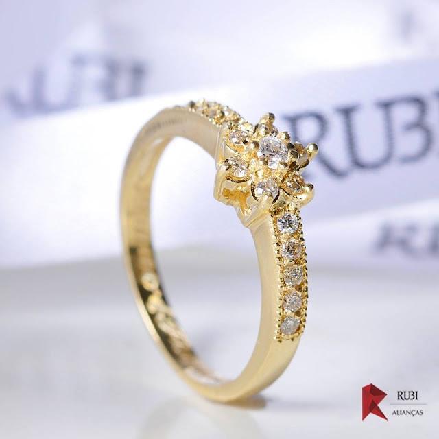 Anéis de Noivado - Lojas Rubi