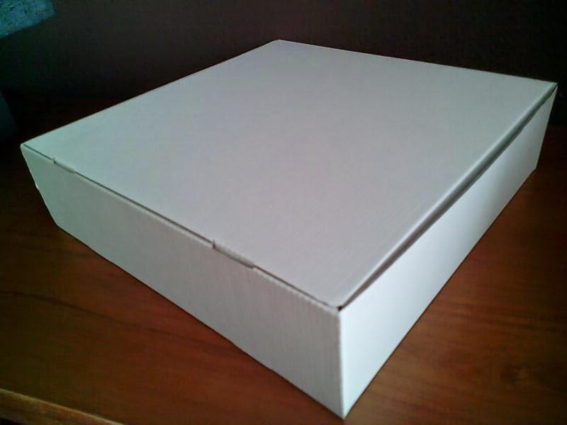 caja carton microcanal 30x30x9