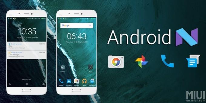 Xiaomi Android Nougat