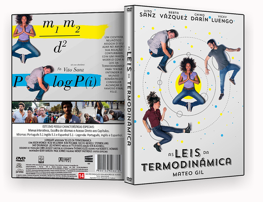 DVD – AS LEIS DA TERMODINAMICA DVD-R AUTORADO