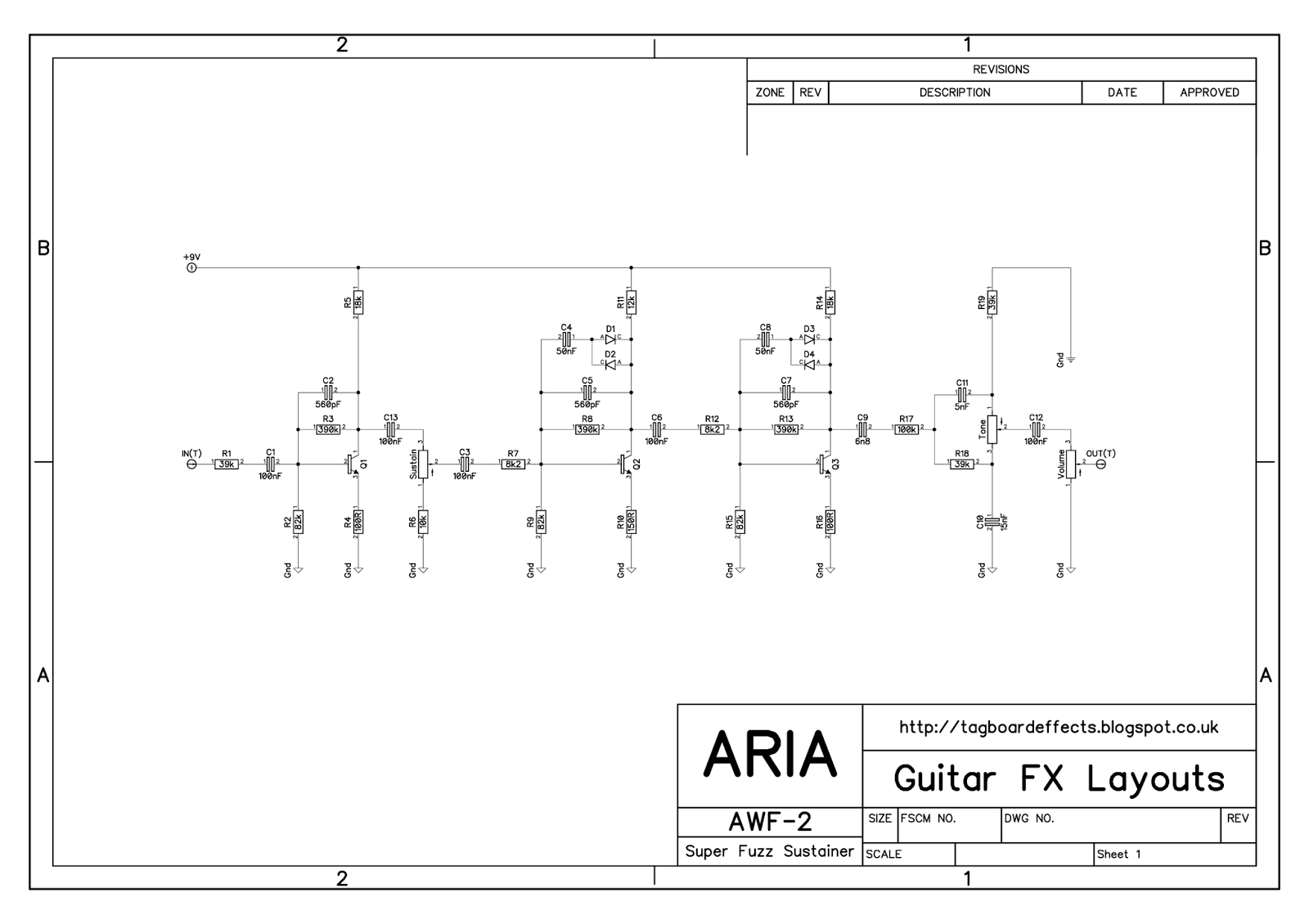 aria wiring diagram - circuit connection diagram free download bass wiring diagram