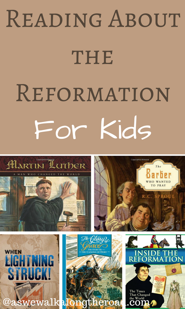 Kids books about the Protestant Reformation