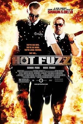 Hot Fuzz 2007 movie poster