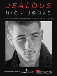 nick jonas jealous free digital sheet music