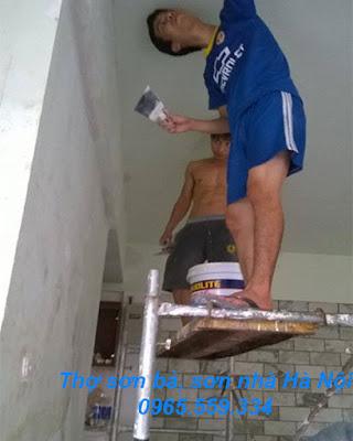 Thợ sơn nhà tại Hà Nội 0965.559.334