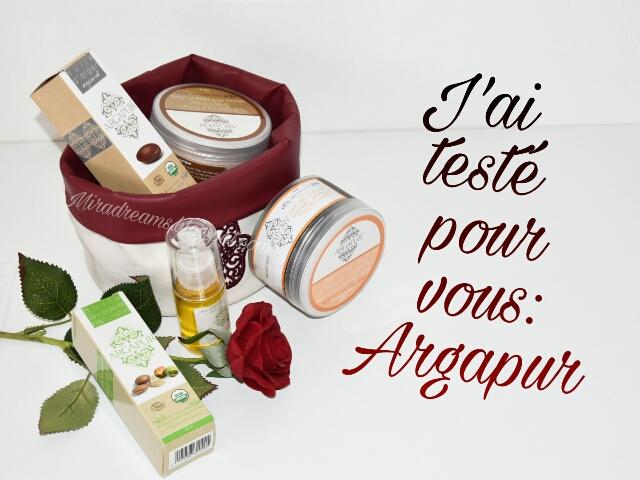ArgaPur, la nature au service de la femme