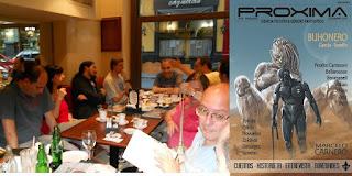 PROXIMA 28 / Presentación en la Tertulia
