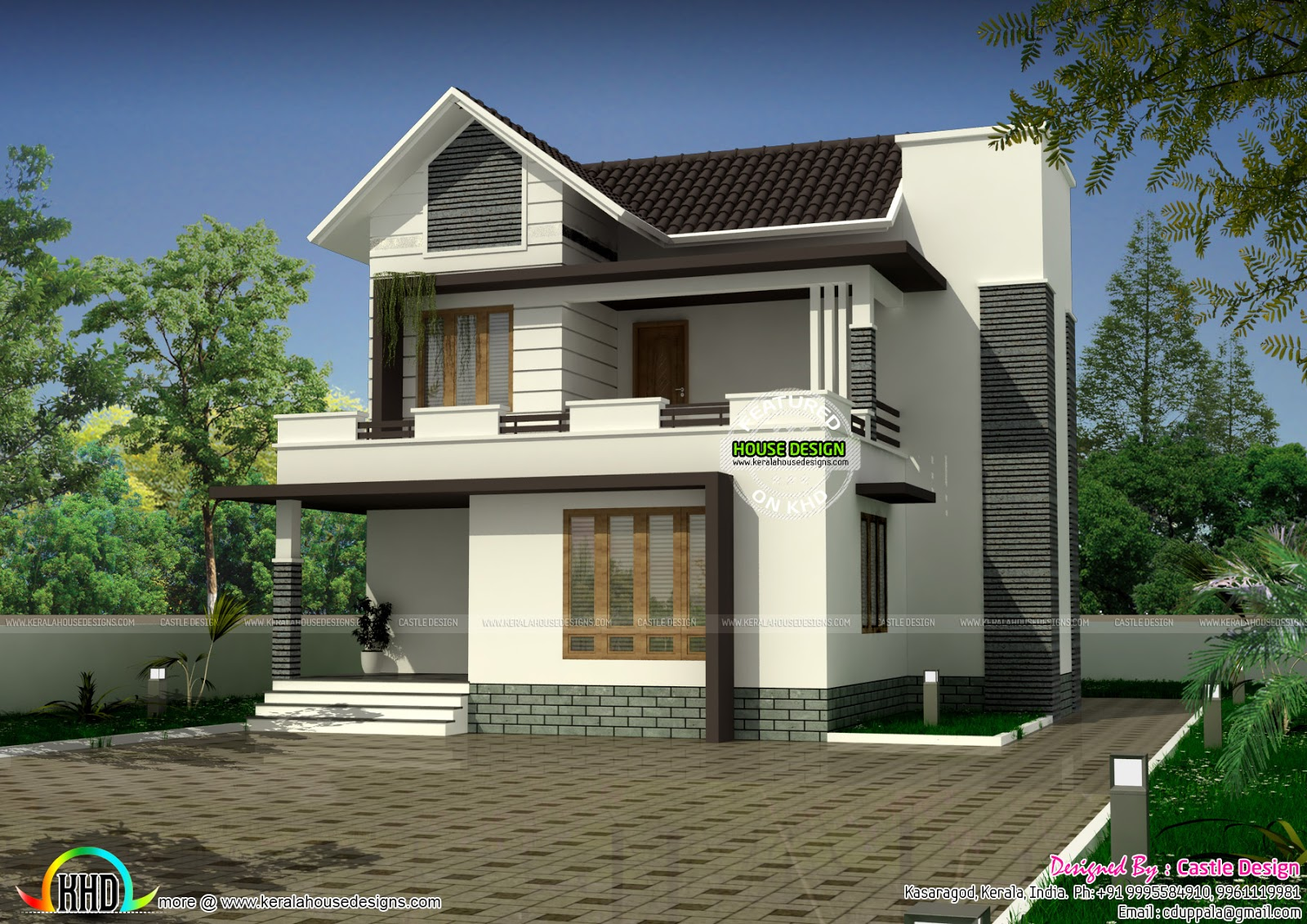 modern 111 sq-m small house plan | kerala home design | bloglovin'
