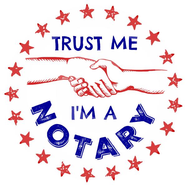 Trust Me Notary Handshake Shirts