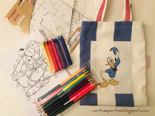 Presentes de Natal - Kit de desenho