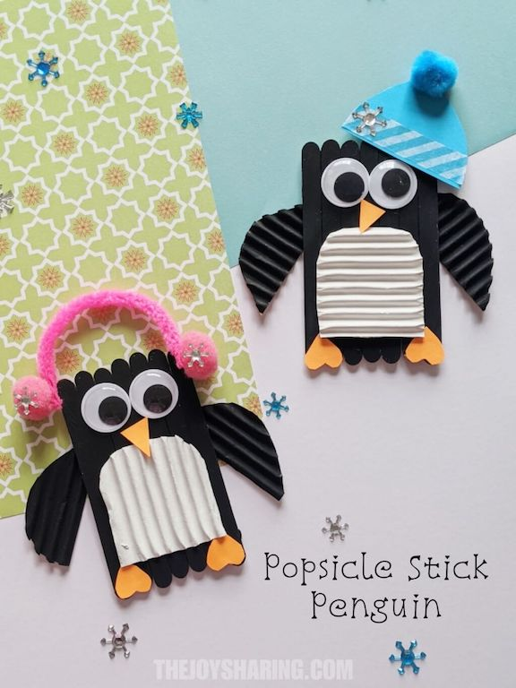 How to make easy penguin craft for kids?