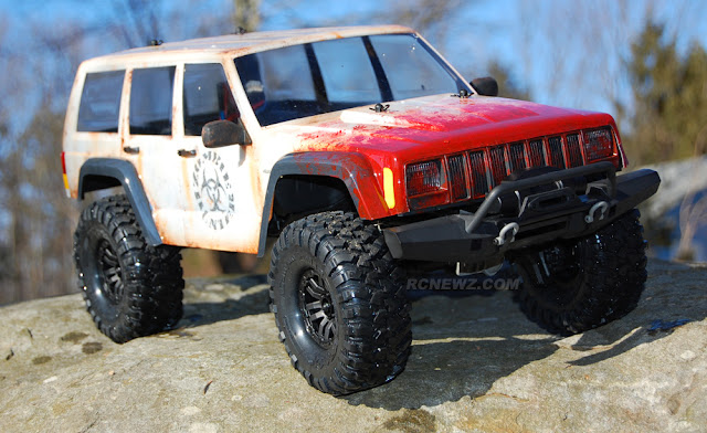 Traxxas TRX-4 rc rock crawler